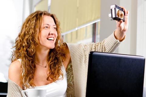 Международный сайт знакомств: выбор фотографии